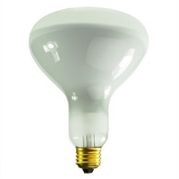 300 Watt - BR40 Incandescent Light Bulb - Frosted - Medium Base - 130 Volt - PLT 107776