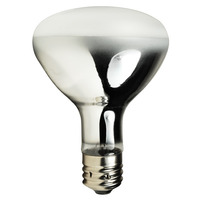 300 Watt - R40 - Incandescent Reflector - Frosted - Flood - Mogul Base - 3,750 Lumens - 2,000 Life Hours - 130 Volt