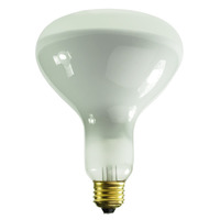 300 Watt - R40 Incandescent Light Bulb - Frosted - Medium Brass Base - 130 Volt - Halco 104035