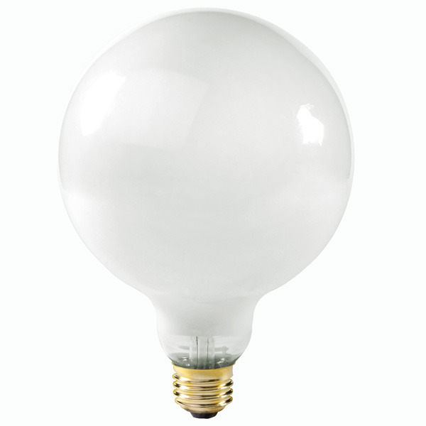 60 Watt Light Bulb: Satco S3002 - 60 Watt - G40 Globe Image,Lighting