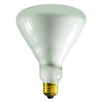 65 Watt - BR40 Incandescent Light Bulb - Frosted - Medium Base - 130 Volt - Satco S8521