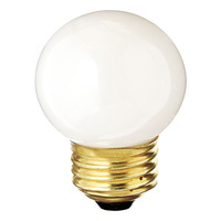 40 Watt - G14 Globe - White - 1,000 Life Hours - 320 Lumens - Medium Base - 130 Volt
