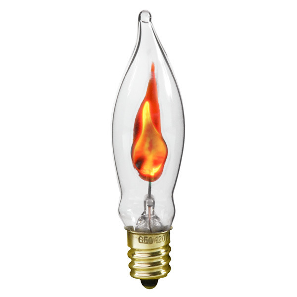 Flicker Flame Glass Chandelier Light Bulbs 1000bulbscom