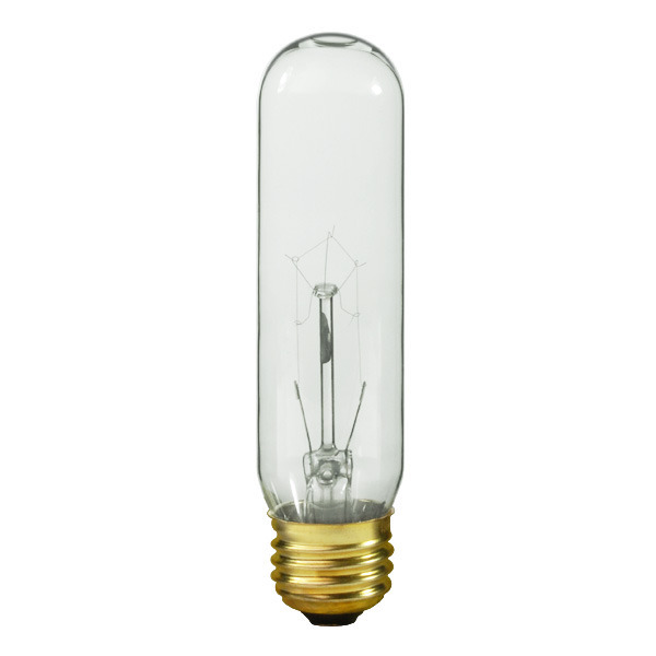 Satco S3896 60 Watt T10 Light Bulb Clear