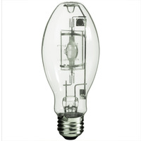 100 Watt - ED17 - Pulse Start - Metal Halide - Protected Arc Tube - 4200K - ANSI M90/O - Medium Base - Universal Burn - MP100/ED17/U/4K - Plusrite 1035