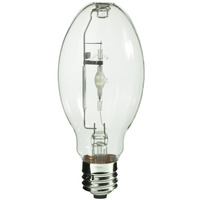 100 Watt - ED28 - Pulse Start - Metal Halide - Unprotected Arc Tube - 4200K - ANSI M90/E - Mogul Base - Universal Burn - MH100/ED28/U/4K - Plusrite 1012
