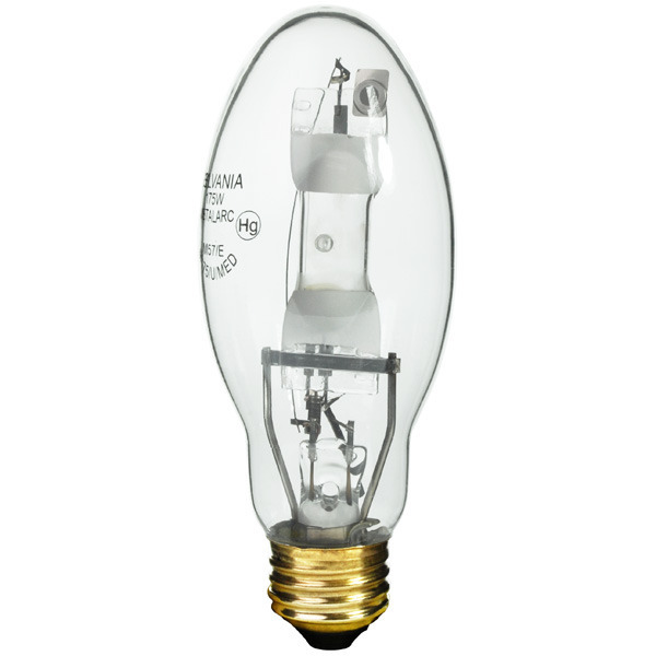 sylvania 175 watt ed17 metal halide image - Sylvania Light Bulbs