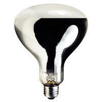 175 Watt - R40 - Metal Halide - Protected Arc Tube - 4000K - ANSI M57/O - Medium Base - Universal Burn - MH175/R40/U/70 - Plusrite 1060