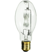 400 Watt - ED28 - Metal Halide - Reduced Envelope - Unprotected Arc Tube - 4000K - ANSI M59/E - Mogul Base - Universal Burn - MVR400/U/ED28 - GE 18904