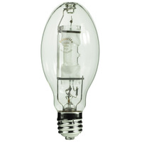400 Watt - ED28 - Metal Halide - Reduced Envelope - Unprotected Arc Tube - 4200K - ANSI M59/E - Mogul Base - Universal Burn - MH400/ED28/U/4K - Plusrite 1022