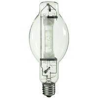 1000 Watt - BT37 - Metal Halide - Reduced Envelope - Unprotected Arc Tube - 3700K - ANSI M47/E - Mogul Base - Universal Burn - MVR1000/U/BT37 - GE 18205