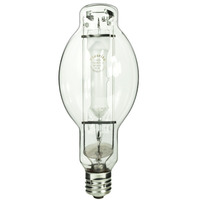 1000 Watt - BT37 - Metal Halide - Reduced Envelope - Unprotected Arc Tube - 4000K - ANSI M47/E - Mogul Base - Universal Burn - MH1000/BT37/U/4K - Plusrite 1028