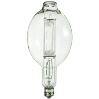 1500 Watt - BT56 - Metal Halide - Unprotected Arc Tube - 4200K - ANSI M48/E - Mogul Base - Universal Burn - MH1500/BT56/U/4K - Plusrite 1030