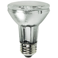 39 Watt - PAR20 Flood - Pulse Start - Metal Halide - Protected Arc Tube - 3000K - ANSI M130/O - Medium Base - Universal Burn - CMH39UPAR20FL25 - GE 42068