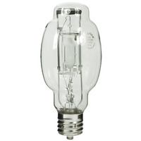 175 Watt - BT28-P - Metal Halide - Protected Arc Tube - 4200K - ANSI M57/O - Mogul Base (EX39) - Universal Burn - MP175/BT28/BU/4K - Plusrite 1040