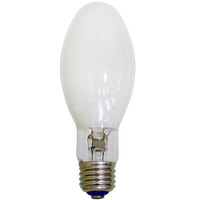 50 Watt - Mercury Vapor - 1800 Lumens - 3200K - Coated - Medium Base - ANSI H46 - H46DL-40-50/DX - PLT 0002