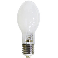 100 Watt - Mercury Vapor - 4200 Lumens - 3700K - Coated - Mogul Base - ANSI H38 - H38JA-100/DX - Philips 33713-9