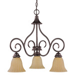 Nuvo 60-2889 (3 CFL) Chandelier Image