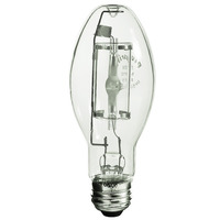 50 Watt - ED17-P - Pulse Start - Metal Halide - Protected Arc Tube - 4200K - ANSI M110/O - Medium Base - Universal Burn - MP50/ED17/U/4K - Plusrite 1031
