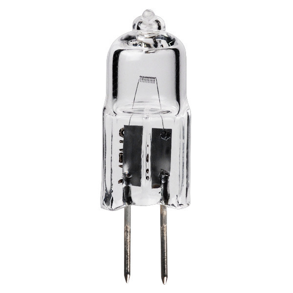 15w T2 75 G4 Base Halogen Clear 6v