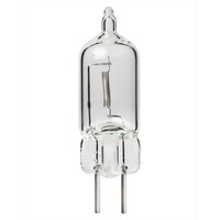 300 Watt - T4 - GY6.35 Base - Halogen - Clear - 2,000 Life Hours - 120 Volt