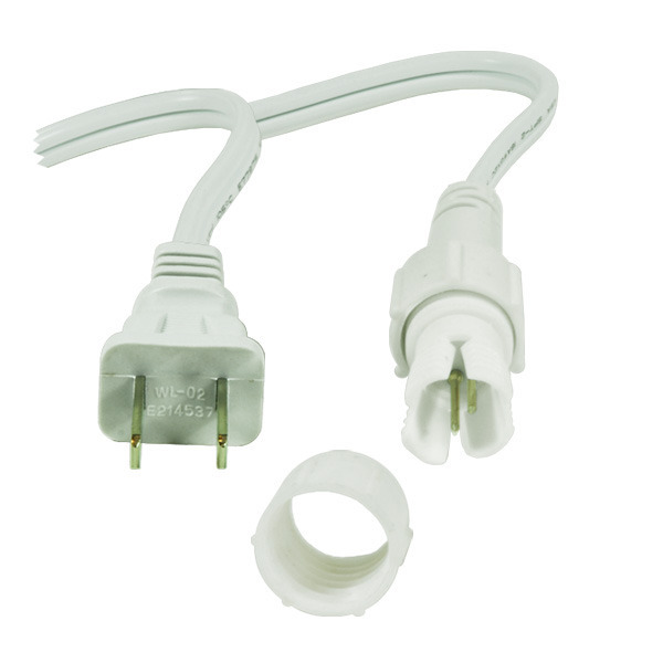 3/8 in. - Incandescent Rope Light Power Cord and Connector Image