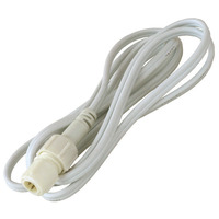 1/2 in. - Incandescent Transformer-Ready Connector Cable - Length 6 ft. - For Use with 12 or 24 Volt Rope Light - 2 Wire