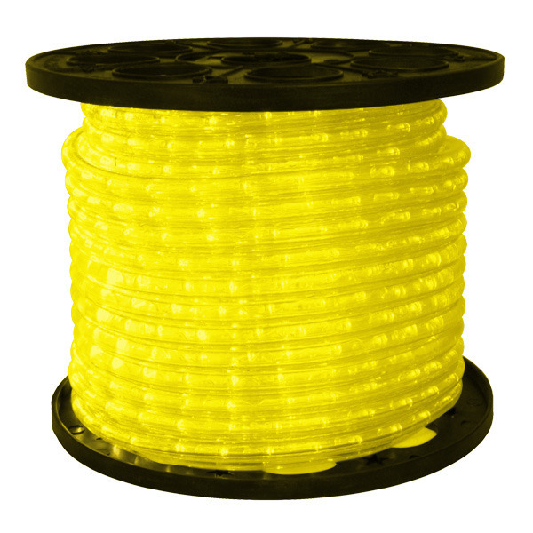 Yellow LED Rope Light 148 Ft Spool