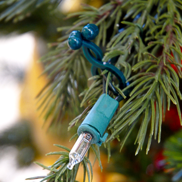 Tree and Shrub Clips | Christmas Light Clips | 24 Pack