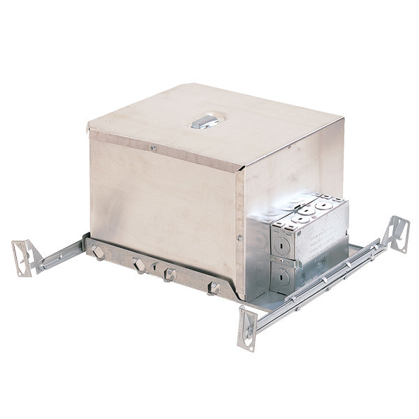 6 in. - 100 Watt Max. - Double Wall New Construction Line Voltage Housing Image