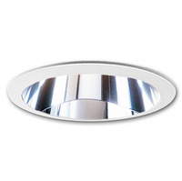 4 in. - Chrome Reflector with White Ring - PLT PS44