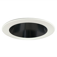 Nora NS-43 - 4 in. - Black Reflector with White Ring