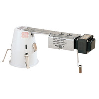 4 in. - 50 Watt Max - Remodel Low Voltage Housing - Airtight Rated - For use in Non-insulated Ceilings - 12 Volt - PLT-PLR-404QAT