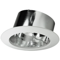 6 in. - Chrome Slope Ceiling Reflector - Nora NTS-615C