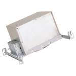 6 in. - 100 Watt Max. - Sloped Ceiling Double Wall New Construction Line Voltage Housing Image