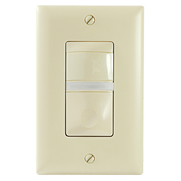 Watt Stopper Legrand RS-150BA-N-I - 180 Deg. PIR Vacancy Sensor with Night Light Image