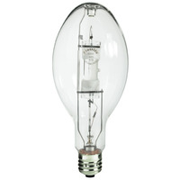 Plusrite 1592 - 400 Watt - ED37 - Pulse Start - Metal Halide - Unprotected Arc Tube - 4200K - Mogul Base - ANSI M155/M135/E - Universal Burn