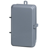 Time Switch Case - Gray Finish - Raintight Steel - Intermatic 2T511GA
