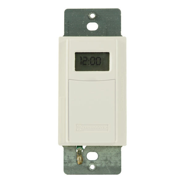 Intermatic EI600WC - In-Wall Decorator Time Switch Image