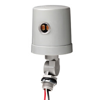 Intermatic K4236C - Photo Control - Thermal Type Photocell - Stem and Swivel Mounting - 120 or 208-277 Volt