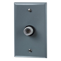 Intermatic K4321C - Photo Control - Thermal Type Photocell - Fixed Position Mounting - Nema 3R Gray Wall Plate Included - Dusk-To-Dawn - 120 Volt