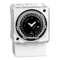 Intermatic MIL72ASTUZH-24 - 24 Hr. Electromechanical Time Control - Surface Mounting - Synchronous - SPDT - 21 Amps - 24 Volt
