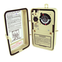 Single Timer Pool-Spa Control with Thermostat - Freeze Protection - Beige Finish - 240 Volt - Intermatic PF1102T