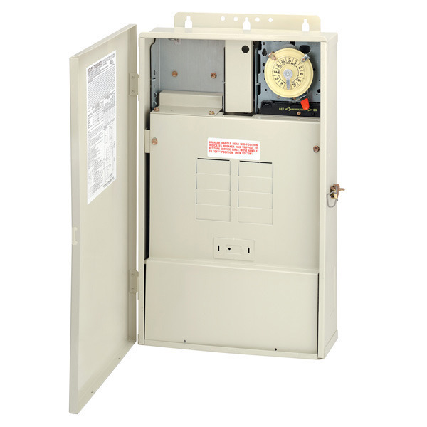Time Control Panel : Intermatic t rt pool spa control panel beige
