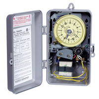 Intermatic T8845PV - Sprinkler-Irrigation Timer - 14-Day Skipper - NEMA 3R Raintight Plastic Case - SPST - 20VA per Pole - 125 Volt