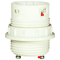 26 Watt - Threaded Twist and Lock - GU24 Electronic Socket Ballast with Ring - 4 Pin G24q-3 or GX24q-3 - PLT D3534