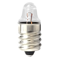 Eiko - 222 Mini Indicator Lamp - 2.25 Volt - 0.25 Amp - TL3 Bulb - Miniature Screw Base - 10 Pack