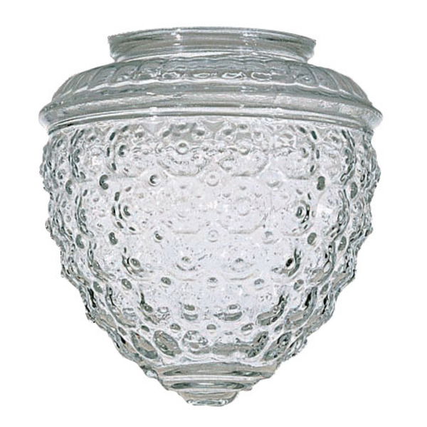 Satco 50112 - Clear Pineapple Glass Image