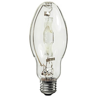 70 Watt - ED28 - Pulse Start - Metal Halide - Unprotected Arc Tube - 4200K - ANSI M98/E - Mogul Base - Universal Burn - MH70/ED28/U/4K - Plusrite 1011