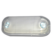 Heavy Duty Emergency Light - Wet Location - Halogen Lamp Heads - 90 Min. Operation - 120/277V - Exitronix LL50H-N4